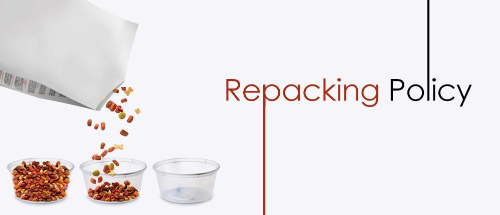 Repacking policy