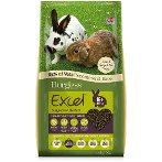 EXCEL ADULT RABBIT WITH MINT 2 kgs BG110