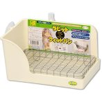FERRET/RABBIT CORNER LITTER PAN WITH DROPPER WD774