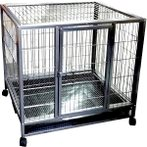 3 FEET BLACK/SILVER HAMMER TONE CAGE STRUCTURE TR-510F