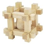 HAMSTER WOODEN CUBE WD466