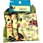 DOG SHOE CLOTH (ASSORTED) - SMALL XS-S