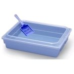 LITTER PAN WITH SCOOP (ASSORTED COLORS) BW671