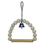 BIRD TOY - SWING WITH BELL WD872