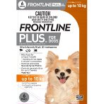 FLEA & TICK PLUS 6s FOR SMALL DOG <10kg FROPLUSSDOG