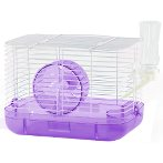 CARRY CAGE WITH BOTTLE, DISH & WHEEL BW735