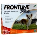 FLEA & TICK PLUS 3s FOR SMALL DOG / PUPPIES FROPLUS3SDOG