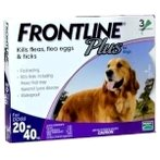 FLEA & TICK PLUS 3s FOR LARGE DOG 20-40kg FROPLUS3LDOG