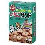 HAMSTER - STRAWBERRY SANDWICH BISCUIT 50G MR555