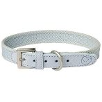 DOG COTTON COLLAR (LIGHT BLUE) (MEDIUM) UP0TP01415AZ