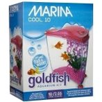 COOL PINK GOLDFISH STARTER KIT 10liter 13386