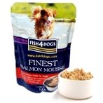 MOUSSE (SALMON) FOR DOGS 100g F4D/DSM363