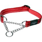 UTILITY-SNAKE OBEDIENCE HALF CHECK - RED (MEDIUM) RG0HC11C