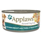 TIN CHICKEN BREAST WITH TUNA & VEGETABLES (DOGS) 156g MPM03003