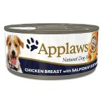 TIN CHICKEN BREAST WITH SALMON & VEGETABLES (DOGS) 156g MPM03004