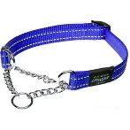 UTILITY-FANBELT OBEDIENCE HALF CHECK - BLUE (LARGE) RG0HC06B