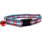 CAT COLLAR (BLUE WITH RED) BW/NCN10SD