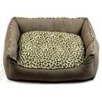 BED WITH LEOPARD PRINT (SMALL) TZ0HQ81618S