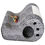 CAT SCRATCHER WITH TOYS (LEOPARD) TZ0HQ71008