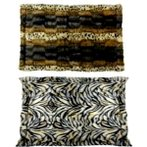LUXURIOUS PET MAT (LEOPARD/ZEBRA) (X-SMALL) YF130710XS