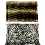 LUXURIOUS PET MAT (LEOPARD/ ZEBRA) (MEDIUM) YF130710M
