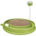 CAT PLAY & SCRATCH TOY - GREEN 51096