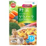 GRANOLA w VEGGIE & CEREAL MIX FOR SMALL ANIMALS 180g ML06