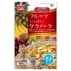 GRANOLA w FRUIT & CEREAL MIX FOR SMALL ANIMALS 180g ML07A