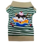 T-SHIRT ICECREAM (GREEN) (SMALL) DDY0T544S