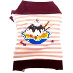 T-SHIRT ICECREAM (PEACH) (SMALL) DDY0T545S