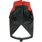 RAINCOAT NON HOOT 2 LEGS (RED / BLACK) (SMALL) DDY0DR022S
