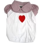 POLO - HEART (WHITE) (LARGE) DDY0T277L