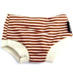 SHORTS - BROWN STRIPE (MEDIUM) DDY0DSR016M