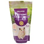 SMALL ANIMAL ANTI-FLEA BATH SAND (PEACH) 1kg BW1641