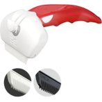 EASEE DESHEDDING TOOL (DOG-10kg) (RED) (SMALL) FL02043