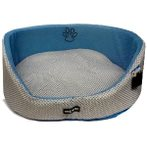 PET BED OVAL - MESH (BLUE) (LARGE) YF87052BUL