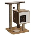 CAT FURNITURE V-BASE 3-TIER - WALNUT VP52042