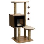 CAT FURNITURE V-HIGH BASE 4-TIER - BLACK VP52046