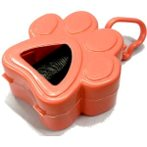PAW PRINT POO BAG CANISTER (ASSORTED) JNBP139