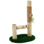CAT SCRATCHER BAMBOO POLE YS89404