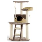 4 TIER WAVE SCRATCH POST SMARTY (BROWN) BT0405770