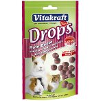 BEETROOT DROPS FOR SMALL ANIMALS 75g VK26619