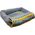 PET BED/MAT - DIAMOND (BLUE) (MEDIUM) YF91354BUM