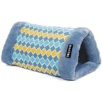 2 IN 1 TUNNEL BED/MAT - DIAMOND (BLUE) YF91473BUD