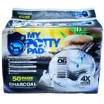 MY POTTY PAD CHARCOAL 50pcs - (45cmX60cm) MPPC050