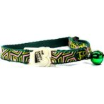 CAT COLLAR - GEOMETRY (GREEN) BWCC1603GN