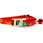 CAT COLLAR - TRIBAL (RED) BWCC1604RD