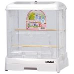 EASY HOME ACRYLIC BIRD CAGE - WHITE WD995