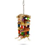 WOODEN BIRD TOY- TOWER BT05550
