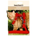 NYLON HARNESS & LEAD (RED) BT0730421